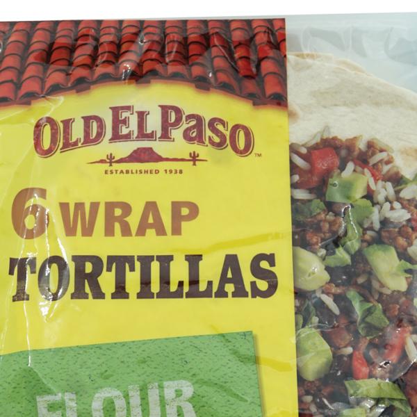 Old El Paso Wrap Tortillas 6 Stk.
