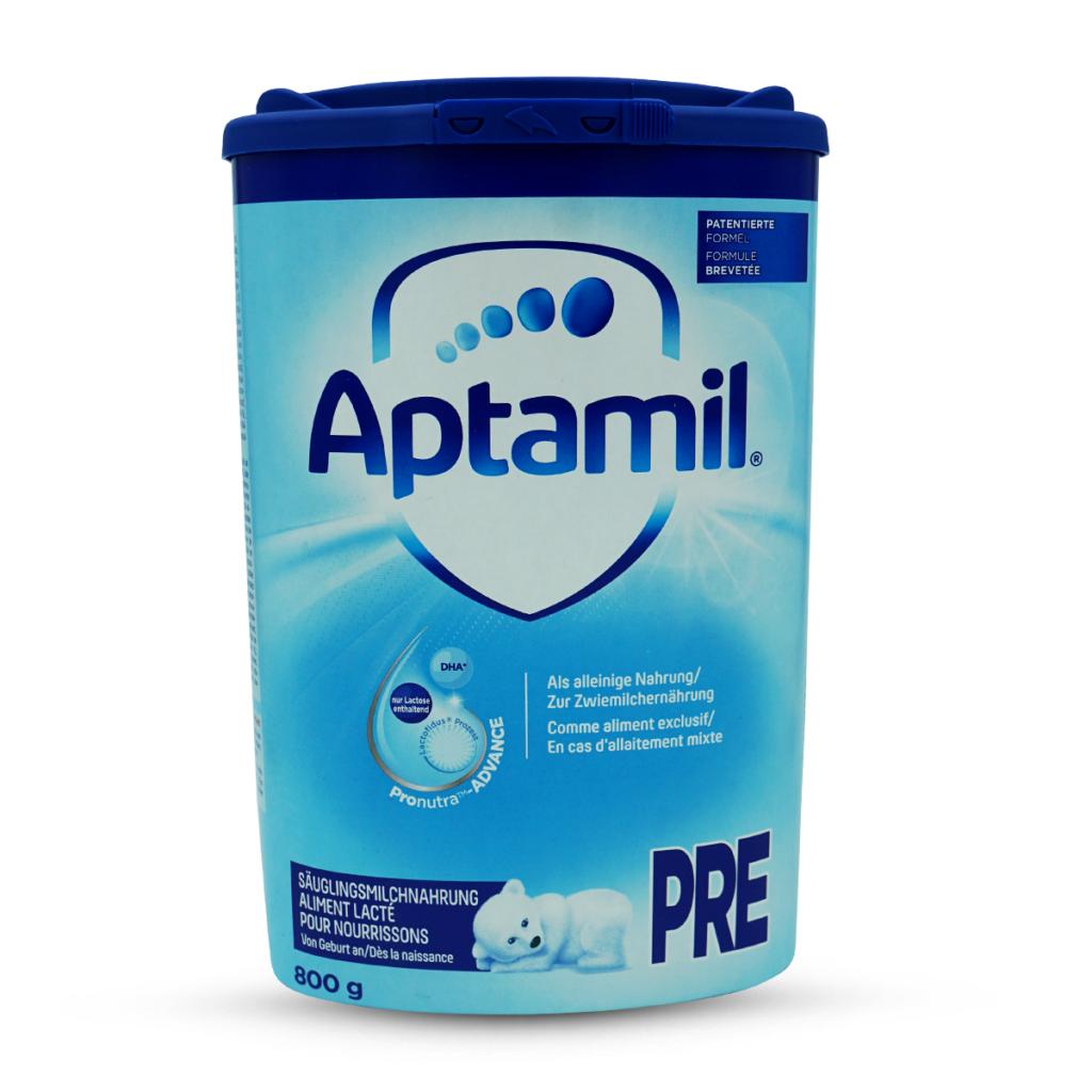 Milupa Aptamil Säuglingsmilch-Pulver Pre 0+ Monate