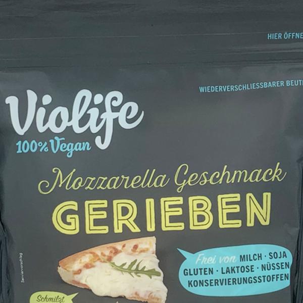 Violife Gerieben mit Mozzarella Geschmack
