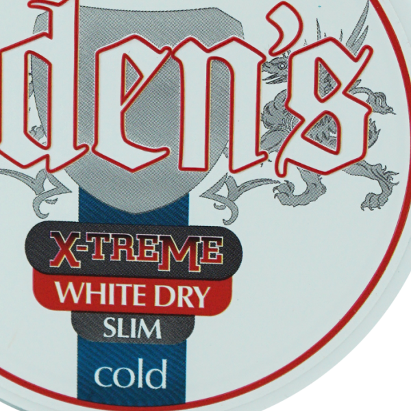 Oden's Cold Extreme White Dry Slim