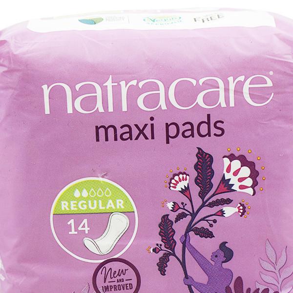 NATRACARE Damenbinden | Maxi Pads 14 Stk