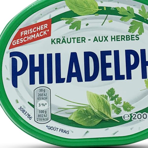 Philadelphia Frischkäse Kräuter