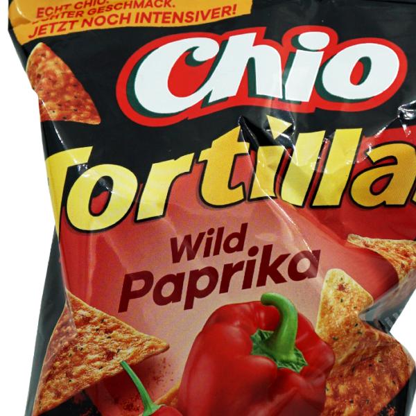 Chio Tortilla Chips Wild Paprika
