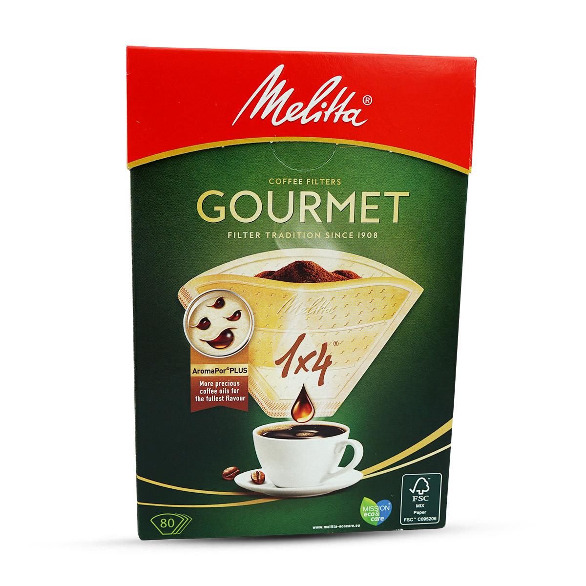 Melitta Kaffee Filtertüten 1x4 80 Stk.