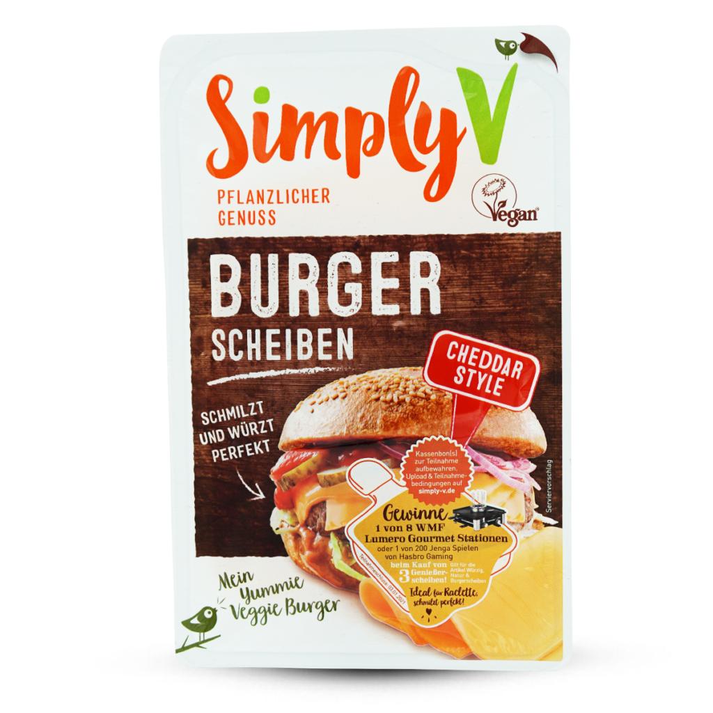 Simply V Vegane Geniesserscheibe Burger