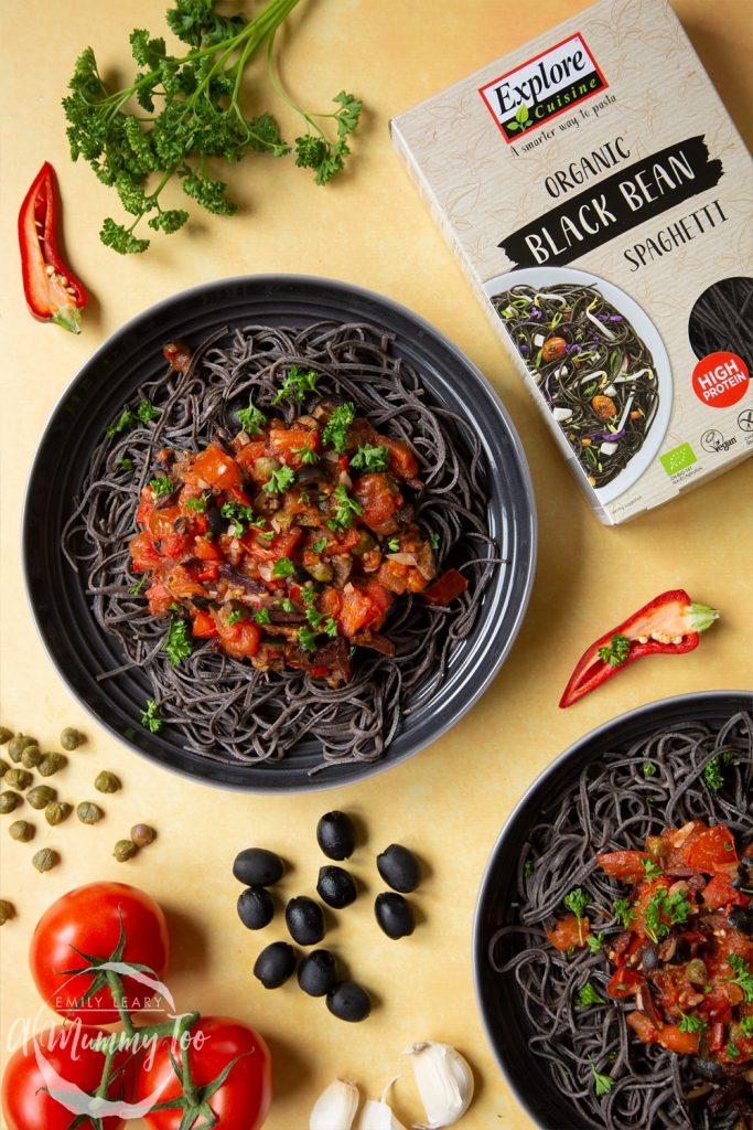 Explore Cuisine Bio Spaghetti aus Schwarzen Bohnen