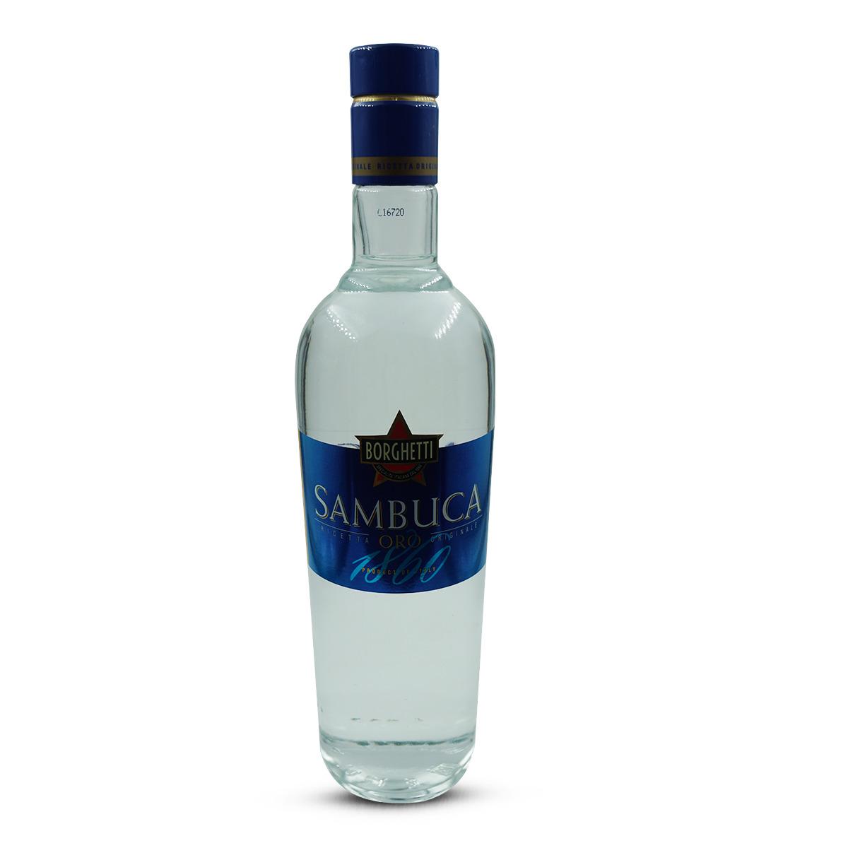 Borghetti Sambuca Oro Liquore