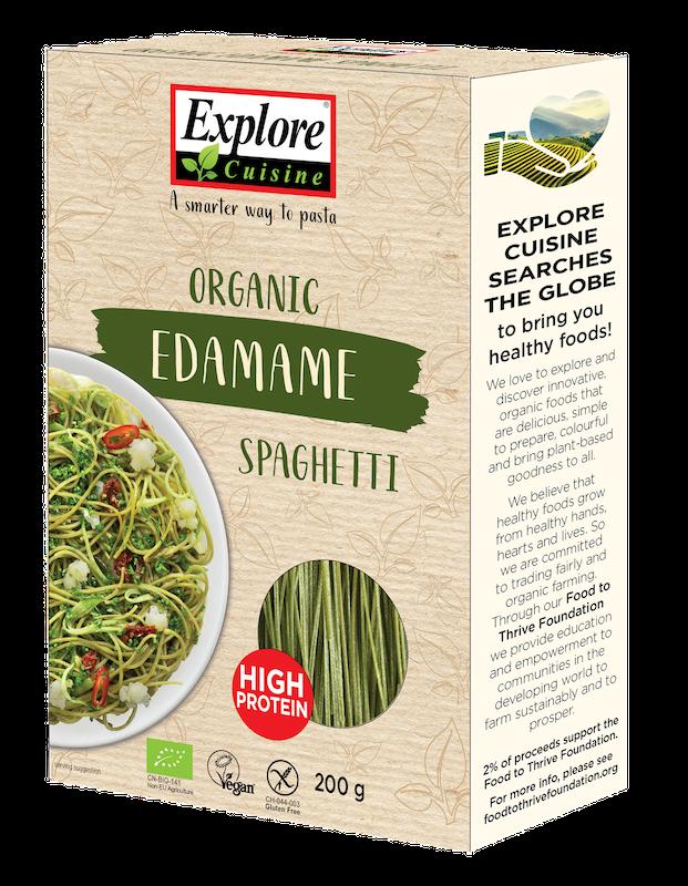 Explore Cuisine Bio Spaghetti aus Edamame