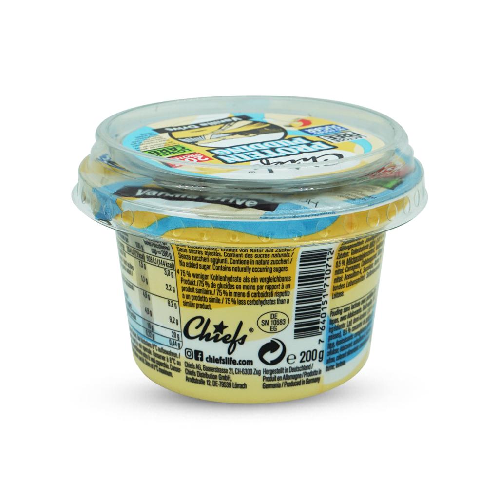 Chiefs Vanilla Protein Pudding