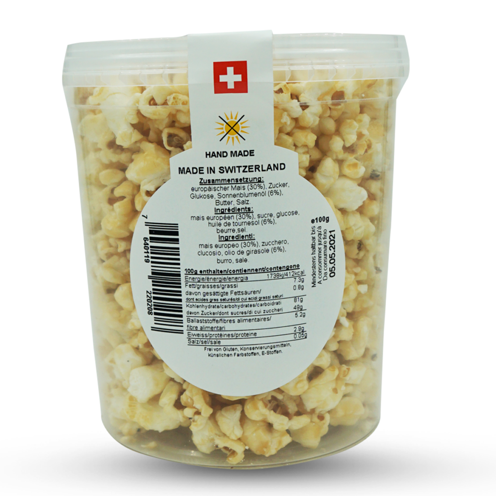 Maya Popcorn mit Caramelgeschmack