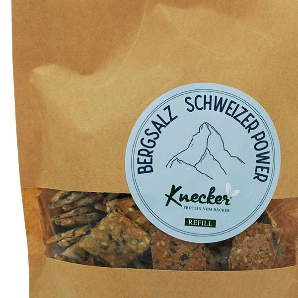 Knecker mit Bergsalz im Bigsize