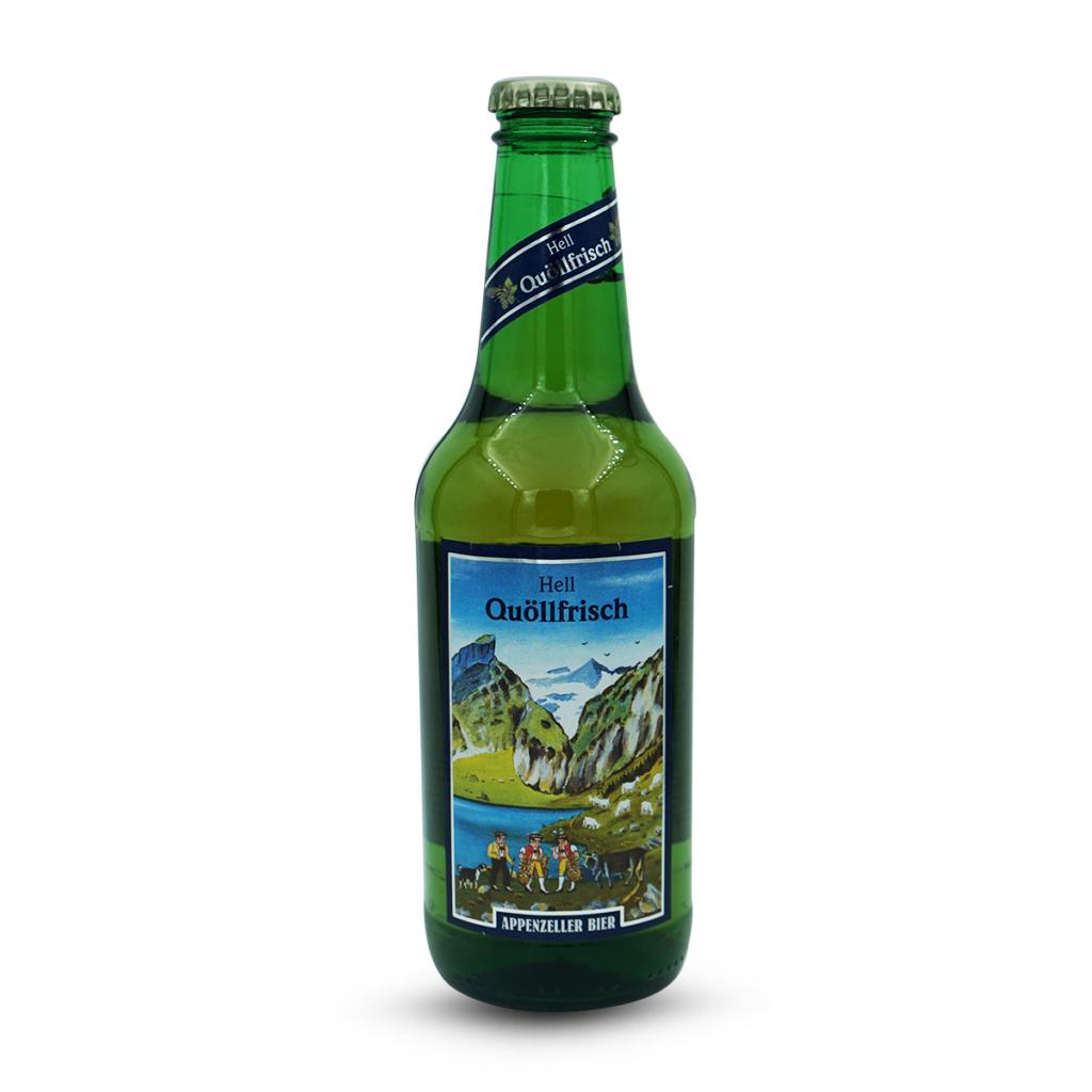 Appenzeller Quöllfrisch Hell Bier
