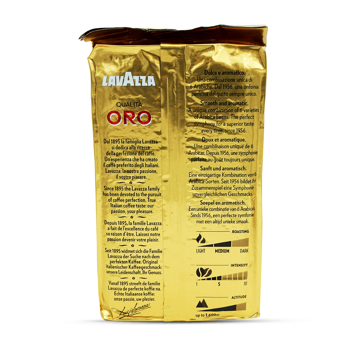 Lavazza Kaffee gemahlen Qualità Oro
