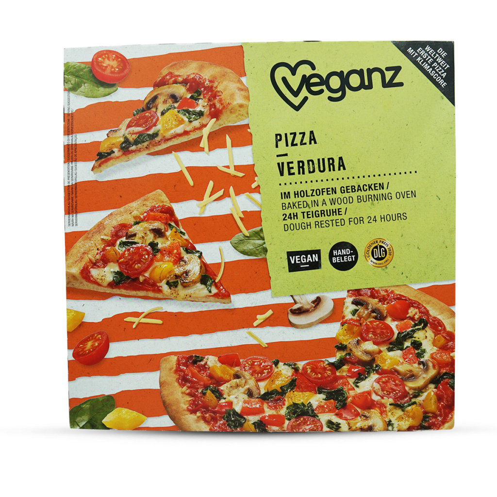 Veganz Frozen Verdura Pizza