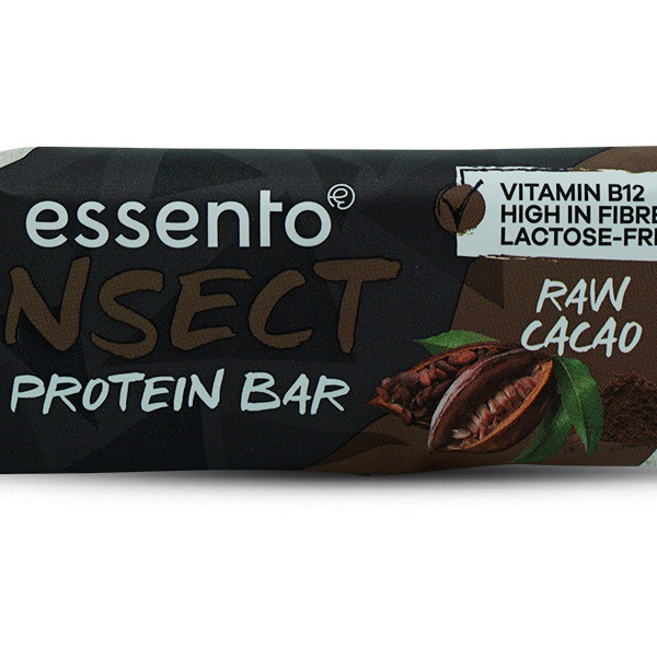 Essento Insect Protein Riegel - Raw Cacao