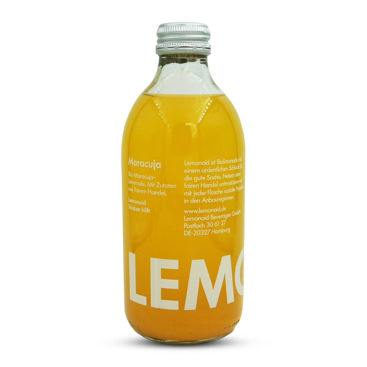 LemonAid Bio Maracuja