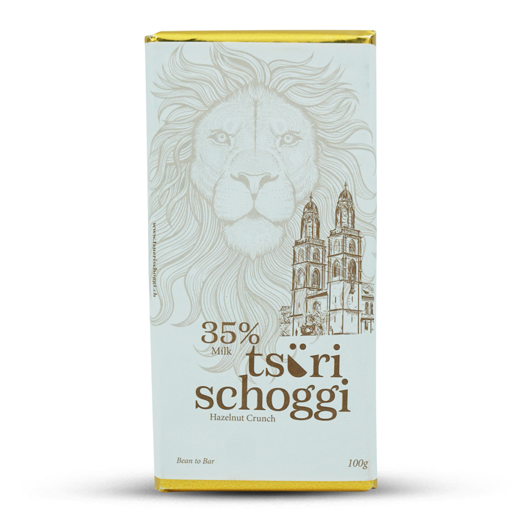 Bio Tsüri Schoggi Haselnuss