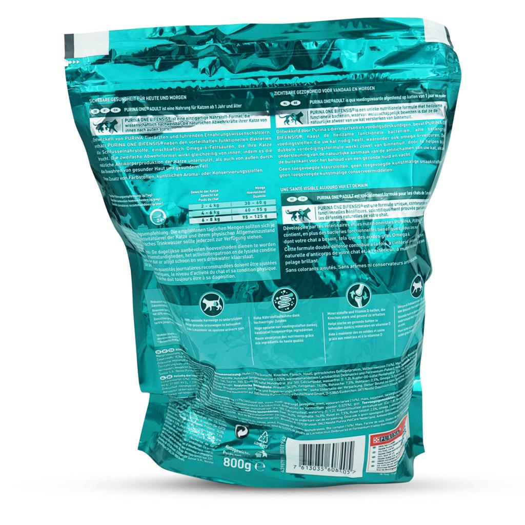 Purina ONE Trocken-Katzenfutter Adult Huhn & Getreide