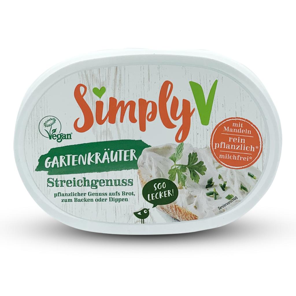 Simply V Veganer Streichgenuss Gartenkräuter