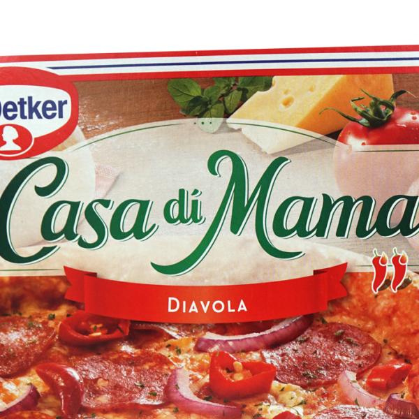 Dr. Oetker Casa di Mama Frozen Diavola Pizza