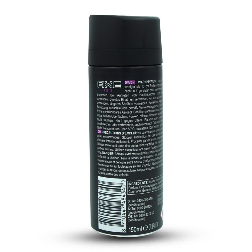 Axe Men Excite Bodyspray Deodorant