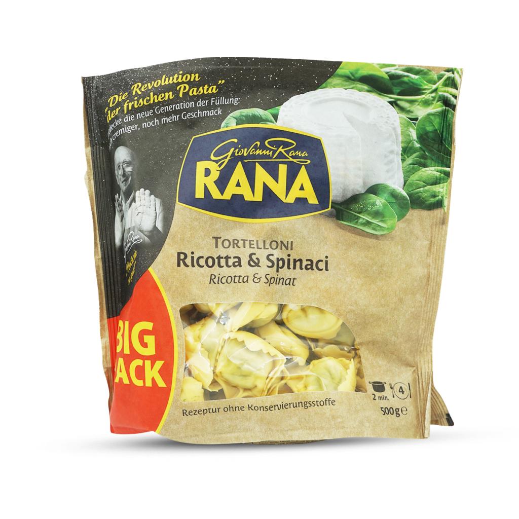 Rana Tortellini Ricotta & Spinat