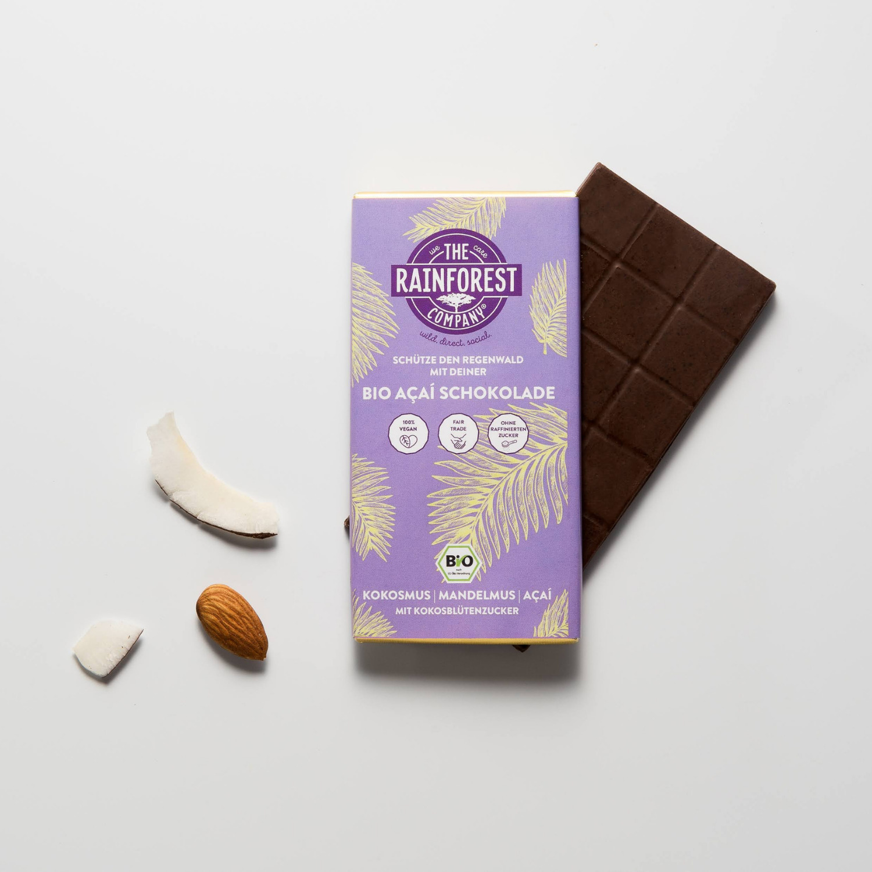 Açaí Schokolade Mandel