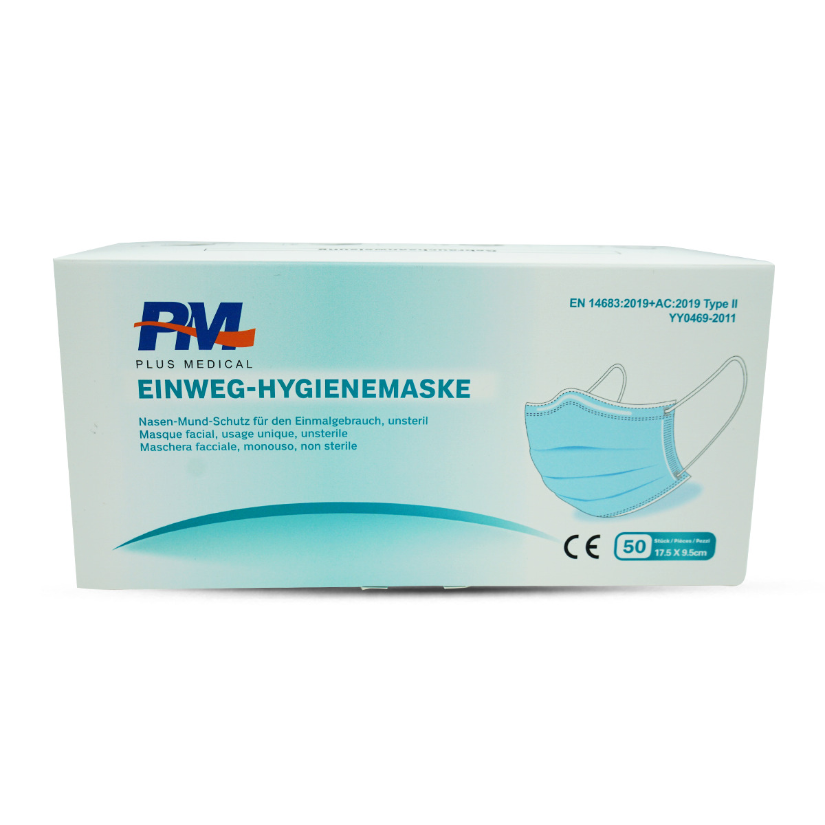 Hygienemaske Typ II, 50Stk.