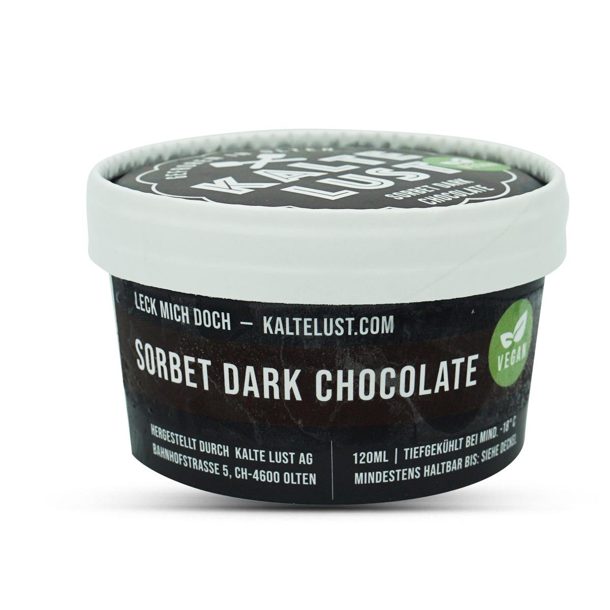Kalte Lust Sorbet Dark Chocolate Vegan