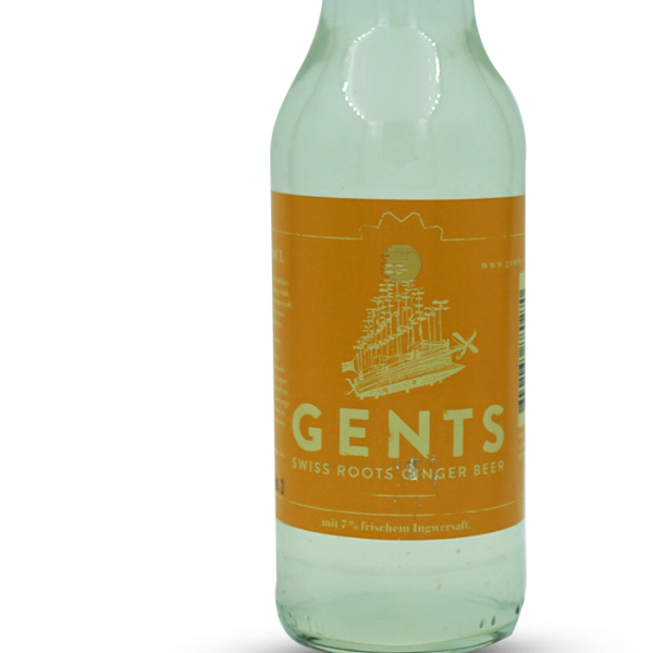 Gents Swiss Roots Ginger Beer (ohne alkohol)