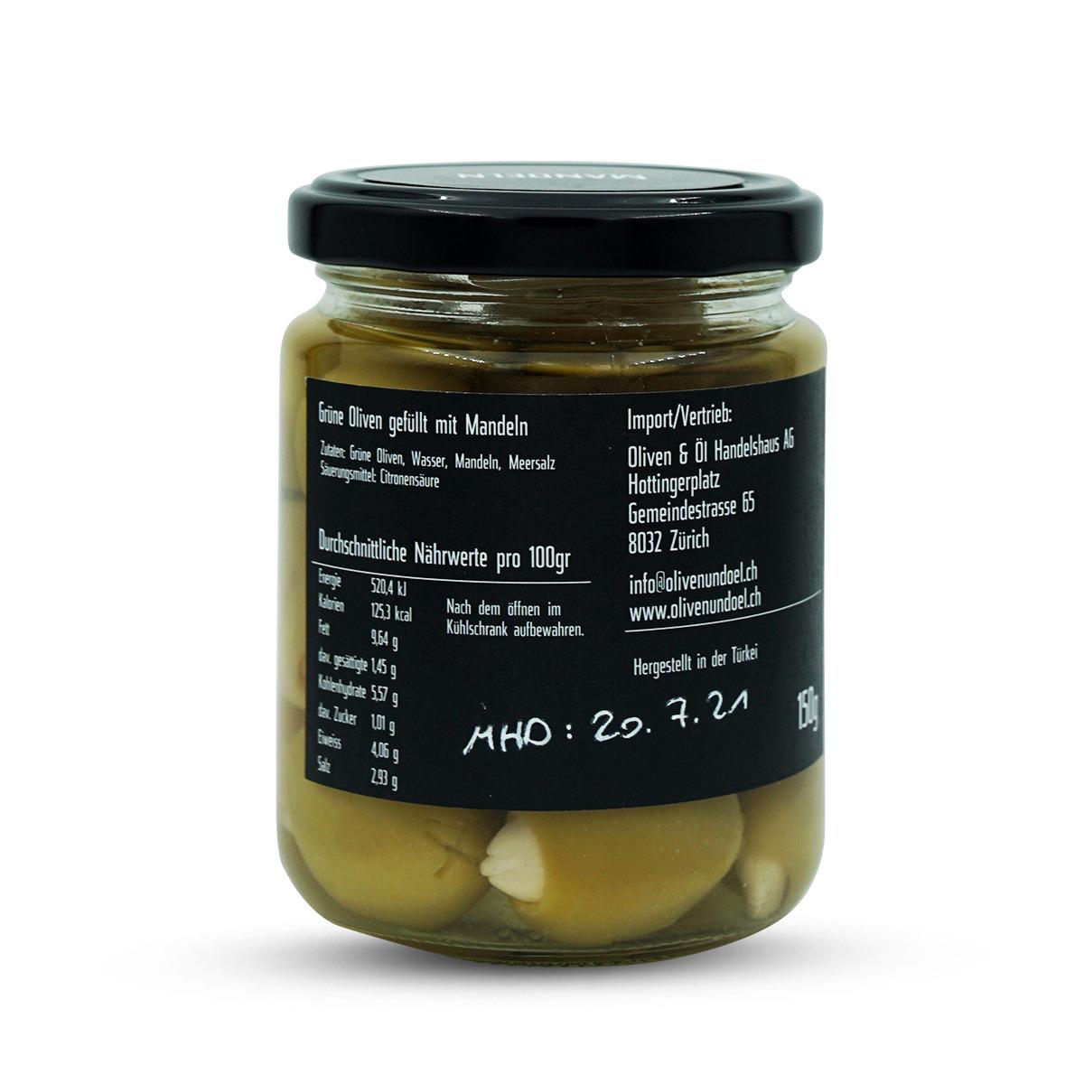 Oliven&Öl Oliven Mandeln