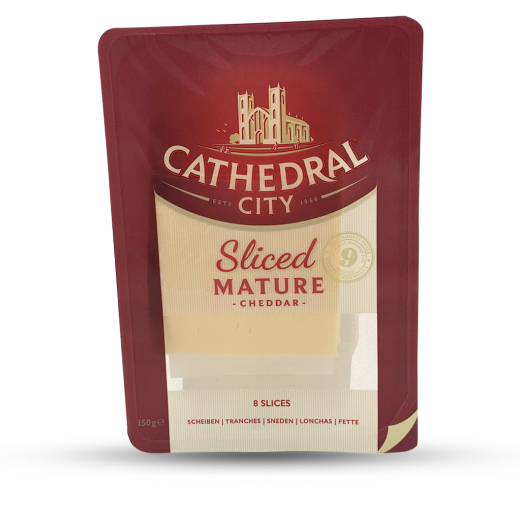 Cathedral City Mature Sliced Cheddar 8 Stk.