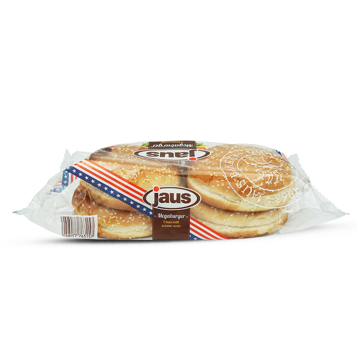 Jaus Sesam Megaburger Bun 4 Stk.