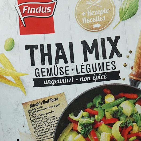 Findus Gemüse-Mix Thai
