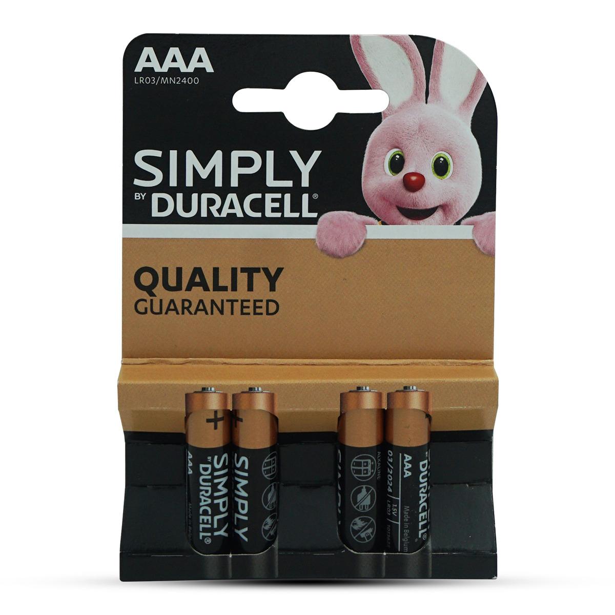 Duracell Simply Batterien AAA/LR03 4Stk