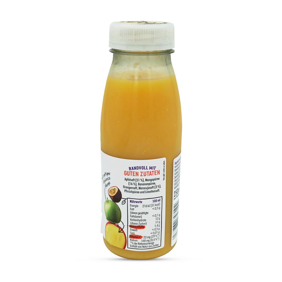 Innocent Mango, Maracuja & Apfel Smoothie