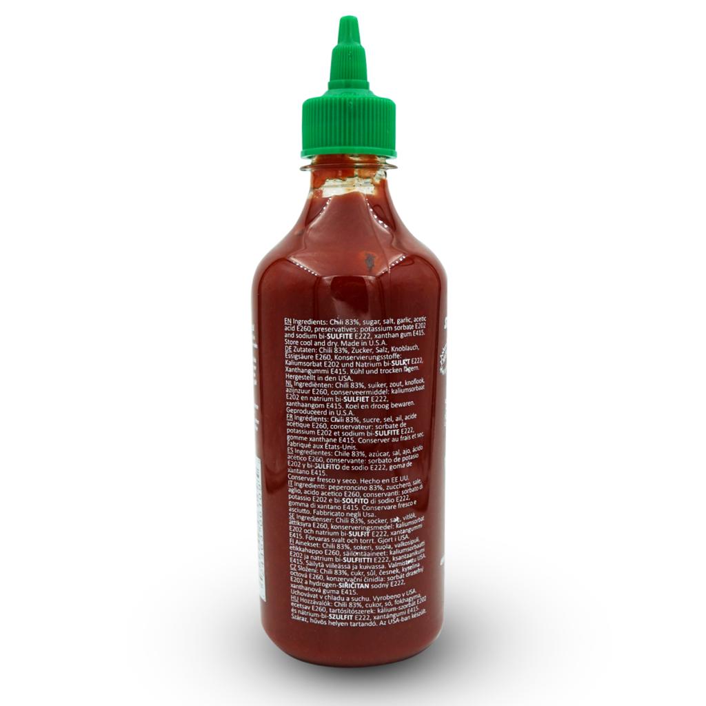Huy Fong Hot Chili Sriracha Sauce