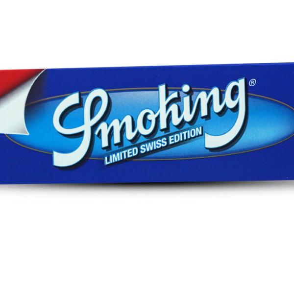 Smoking King Size Blau Papier 33 Stk.