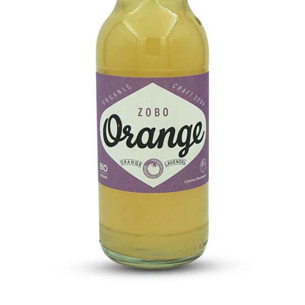 Zobo Bio Orangenlimonade mit Orange & Lavendel