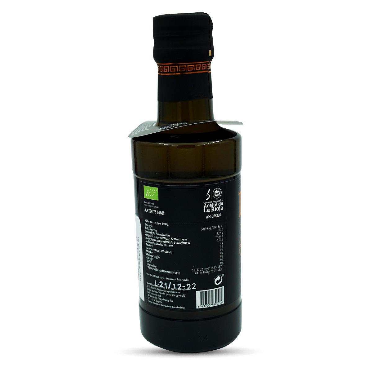 Bio Extra Natives Olivenöl, ISULArbequina reinsortig