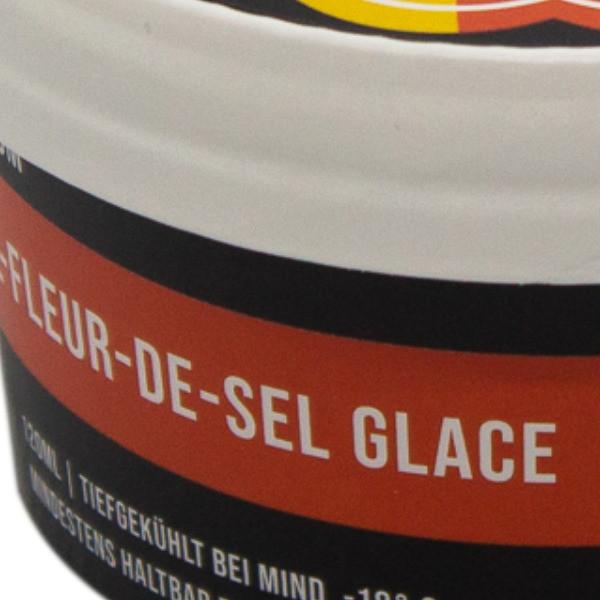 Kalte Lust Glace Popkorn-Karamell-Fleur-De-Sel
