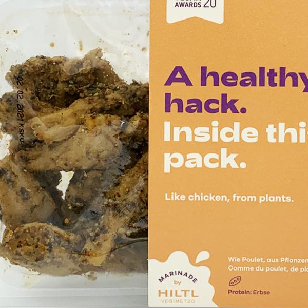 Planted Chicken Mariniert