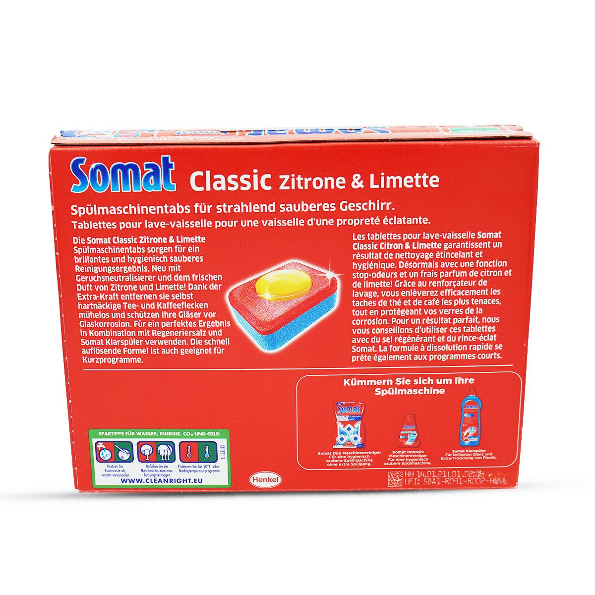 Somat Classic PLUS Zitrone, 38 Tabs