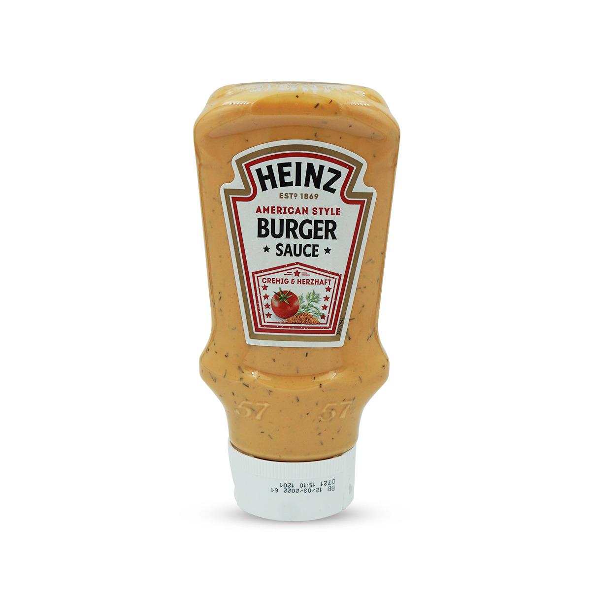 Heinz Sauce American Burger