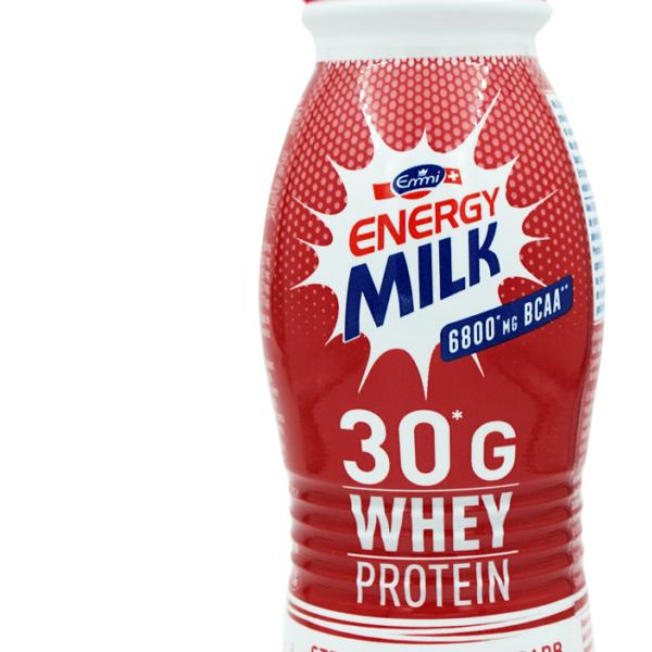 Emmi Energy Milk Whey Drink Erdbeere & Rhabarber