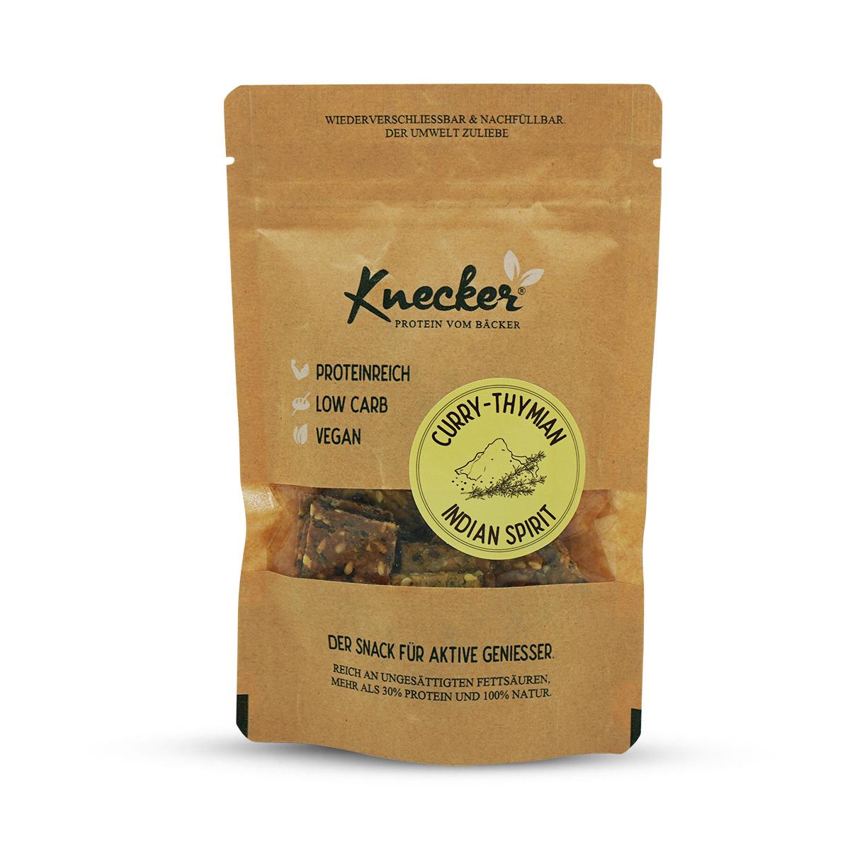 Knecker mit Curry-Thymian Pocketsize