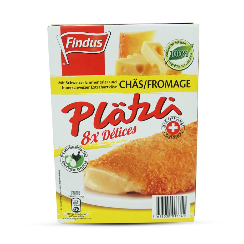 Findus Plätzli mit Chäs 8 Stück