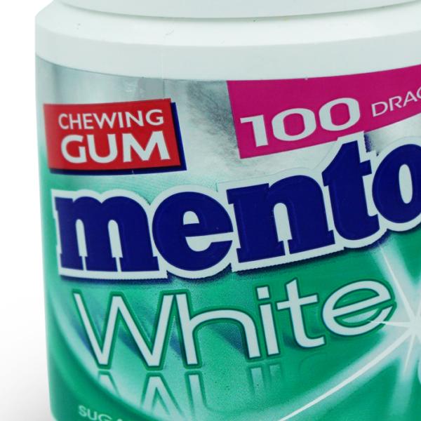 Mentos Kaugummi White Green Mint