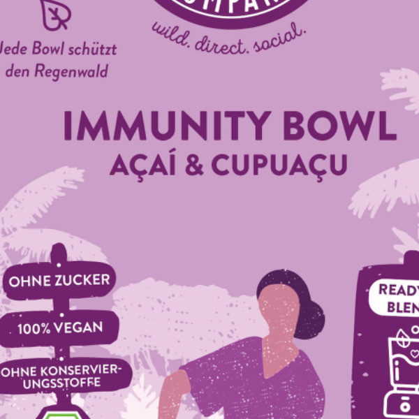 Açai Frozen Immunity Bowl