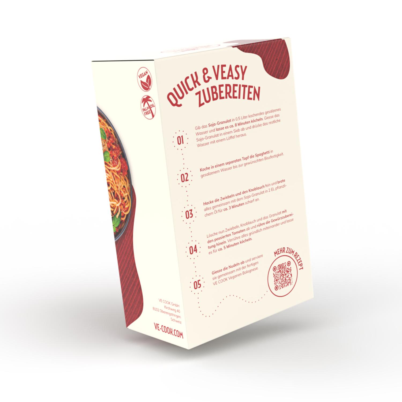 VE COOK Vegane Bolognese Cooking Kit